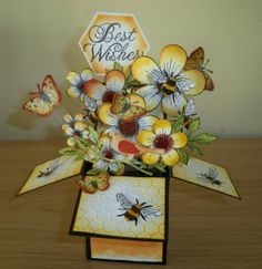 Pop-Up Box Card - Inspired by Members - Thank You! by: CooperM