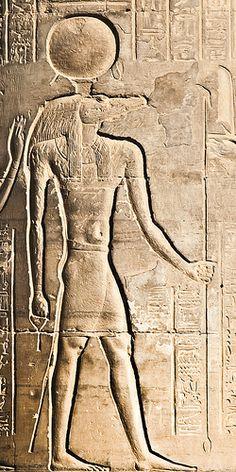 Kom Ombo Sebek associated with Ra