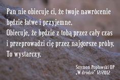 Szymon Popławski OP o nawróceniu #cytat #Wdrodze