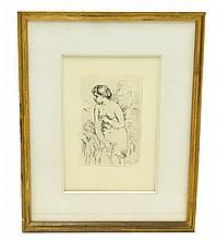 After Pierre-Auguste Renoir (French, 1841-1919), etching, 1910,