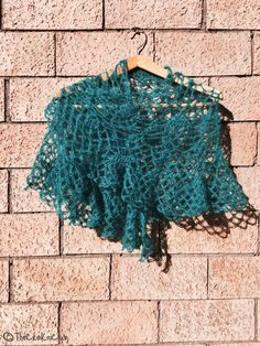 Mohair Vintage Style shawl