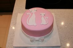 Cat Birthday Cake by The Clever Little Cupcake Company (Amanda), via Flickr