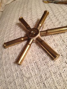 Shotgun shell and 30/30 ammo ornament