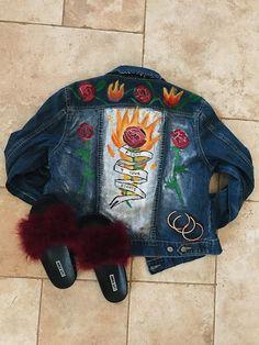 Painted Denim Jacket [Video]
