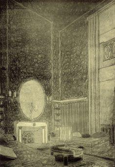 Interiors by Emile-Jacques Ruhlmann