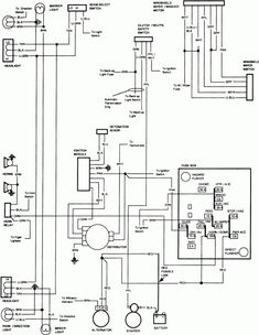 1984 Chevy Truck Electrical Wiring Diagram and Chevy