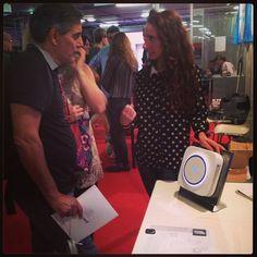 the new #Elica Air Balancer, @ Maker Faire Rome, 3-5 October 2014