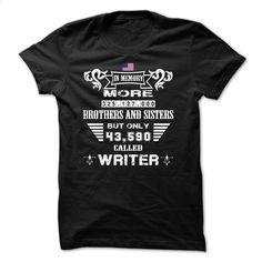 Proud A Writer T Shirt, Hoodie, Sweatshirts - shirt dress #Tshirt #T-Shirts
