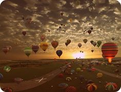 im developing an obsession with hot air balloon rides. i wanna go on one so bad it hurts. preferably at sunset <3