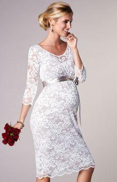 Friendly Luxury Ivory Pregnancy Maternity Wedding Dresses Flower Court Great Gatsby Gown Gorgeous Robe De Mariee Femme Enceinte Clothes Great Varieties Dresses Pregnancy & Maternity