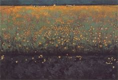 Flowering landscape, Jan Mankes. Dutch (1889 - 1920)