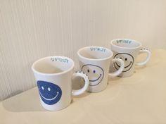 ポーセラーツ オリジナルマグカップ 手作り フェリピエ http://s.ameblo.jp/1985yukayuka/