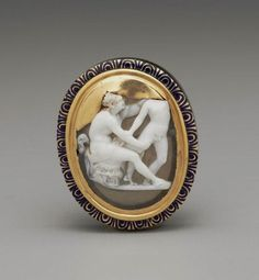 Cameo with a satyr and a boy. Roman, Imperial Period, 1st century A.D.  | © 2015 Museum of Fine Arts, Boston
