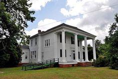 The Taliaferro-House, Evergreen, Alabama