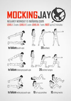 Funny super-hero inspired workouts