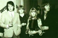 John and Cynthia Lennon Photo Shoot | With Paul McCartney, Cynthia Lennon and John Lennon