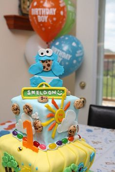 Sesame Street 1st Birthday Cake | Flickr - Photo Sharing!