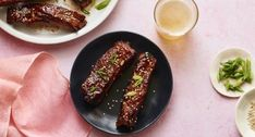 Tender ribs flavored with hoisin, brown sugar, soy sauce and Chinese five spice. Pork Lion Roast, Pork Recipes, New Recipes, Spareribs Recipe, Chinese Five Spice Powder, Hoisin Sauce, Soy Sauce, Duck Sauce, Gel Food Coloring