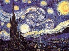 Vincent Van Gogh (The Starry Night, Huge) Art Poster Print - 40x54 Giant Poster Print