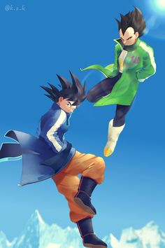 Goku and Vegeta DBS Movie 2018