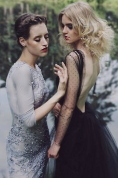 Dresses by Aleksandra Mirosław