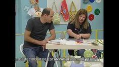 Aplicação em Alto Relevo VIVI PRADO - Ateliê na Tv (16/08/2013)