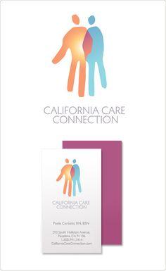 Logo for a healthcare provider. Design: Marc Posch Design, Inc. Los Angeles