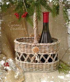 Basket for wine