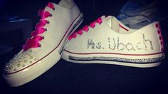 Brautschuhe  #chucks #bride #doityourself #brideshoes