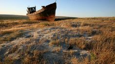 For the First Time in Moderen History, the Aral Sea's Eastern Basin has Gone Dry