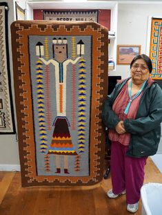Native American Rugs, Native American Patterns, Native American Artwork, Native American Women, Native American Beading, American Indians, Navajo Weaving, Navajo Rugs, Southwestern Quilts