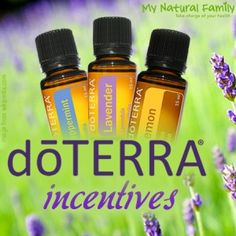 My Ongoing Incentives do sign up for doTERRA - 1) $50 in free oils with your 100PV new signup order 2)$100 in free oils if you maintain LRP for 3 months 3) $50 in free oils for every person you sign up 4)I add at least one person to your team for every person you sign up 5)All the above incentives to everyone on your team
