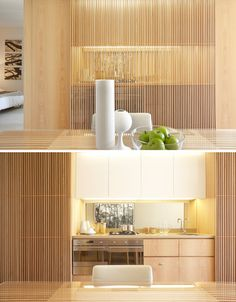 ★ One Central Park – IDEA 2014 Designer: Smart Deisgn Studio and Koichi Takada Architects ★ House Design, Interior Design, House Interior, Kitchen Interior, Built In Furniture, Hidden Kitchen, Interior, Kitchen Room, Home Decor