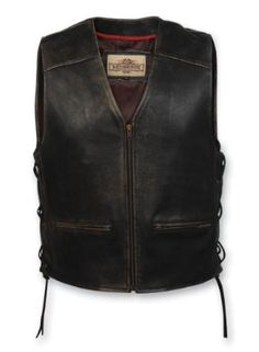 Milwaukee Motorcycle Clothing Company Men's Distressed Leather Lined Vest with Side Lace (Large) --- http://www.amazon.com/Milwaukee-Motorcycle-Clothing-Company-Distressed/dp/B003C24F8Q/?tag=affpicntip-20