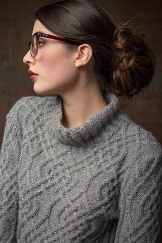 Ravelry: Prescott Pullover by Linda Marveng Cable Knitting, Crochet Yarn, Jeans And Boots, Ravelry, Knitting Patterns, Bell Sleeves, Turtle Neck, Pullover, Fashion Outfits