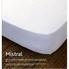 Funda de colchón Mistral. Funda de colchón Mistral de Kamasana Tejido rizo 100% algodón Adaptable Tratamiento antiácaros Cremallera en L 3 colores Hecho en España