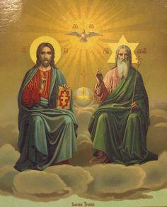 Икона Господа Троица Новозаветная