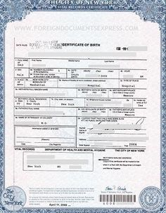 Copy Of Marriage Certificate Long Island Ny