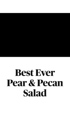Thanksgiving Sides, Thanksgiving Recipes, Fall Recipes, Big Salads, Sugared Pecans, Bartlett Pears, How To Cure Anxiety, Pear Salad, Diet Ideas