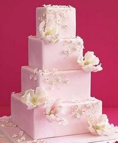 the prettiest pink cake by Cakewalk Confections