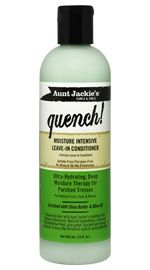 Aunt Jackie's Curls & Coils Quench! Moisture Intensive Leave-In Conditioner - NaturallyCurly