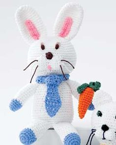 Bunny Toy - free crochet pattern