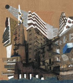 Cherubino Gambardella: Life with Objects – The Manifesto. Mixed Technique on brown paper, 100 × 100cm, Oct 2011