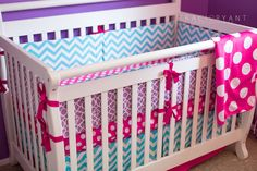 Katie and Kassi Designs: Pink Grey White Turquoise Zig Zag and ...