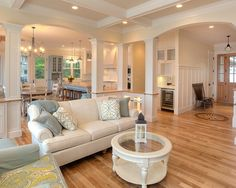 Open Kitchen Floor Plans 13 diverse family room designs from the drury design collection