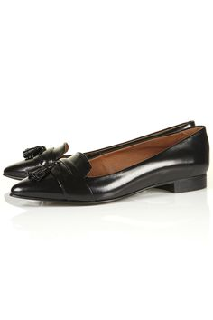 Topshop - KUTIE Pointed tassel slippers