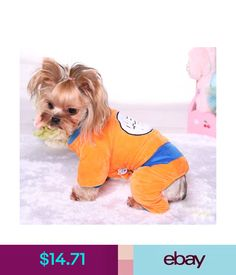 Quality Nice Pet Dog Polka Dot Fleece Hoodie Clothes Soft Pajamas Jumpsuit Superior In