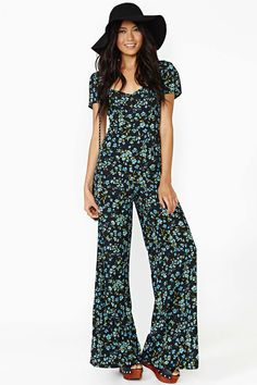 Reformation For Nasty Gal Mariner Jumpsuit | Shop Designed By Us at Nasty Gal