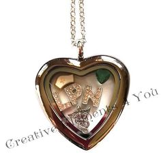 LPN locket inspiration idea. Great gift for any of your friends who are LPN's. www.creativeelements4you.com  #lpn #nursing #medical #care #locket #jewelry #fashion #accessories #charms #origamiowl #livinglife #bride #bridalshower #bridalgift #gift