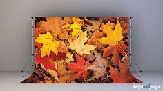 Fall Leaves - Photography Backdrop
